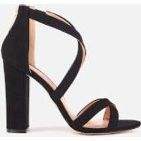 Miss KG Women's Faun Suedette Strappy Heeled Sandals - Black - UK 3 - Black