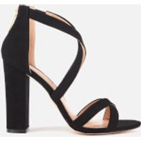 Miss KG Miss KG Women's Faun Suedette Strappy Heeled Sandals - Black - UK 6 - Black