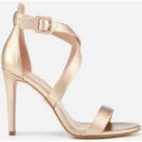 Kurt Geiger London Kurt Geiger London Women's Knightsbridge Cross Strap Leather Heeled Sandals - Bronze - UK 7 - Gold