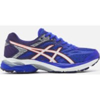 Asics Womens Gel Flux 4 Trainers - Blue Purple/White - UK 5.5 - Blue