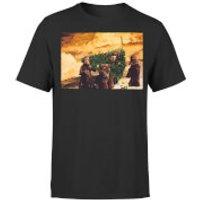 Star Wars Christmas Jawa Tree Black T-Shirt - XL - Black
