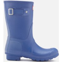 Hunter Womens Original Short Wellies - Bright Cobalt - UK 6 - Blue
