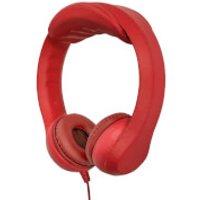 iTek Childrens Highly Flexible Headphones - Red