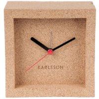 Karlsson Franky Cork Alarm Clock - Karlsson Gifts
