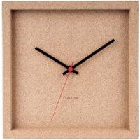 Karlsson Franky Wall Clock - Cork - Karlsson Gifts