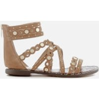 Sam Edelman Women's Geren Suede Gladiator Sandals - Golden Caramel - US 10/UK 8 - Tan