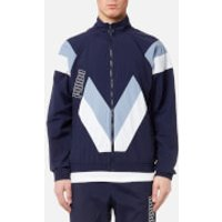 Puma Mens Heritage Jacket - Peacoat - L - Blue
