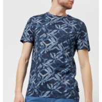 Ted Baker Men's Woof Geo Print T-Shirt - Dark Blue - 5/XL - Blue