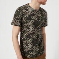 Ted Baker Men's Woof Geo Print T-Shirt - Green - 6/XXL - Green