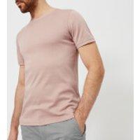 Ted Baker Mens Pik Crew Neck T-Shirt - Dusky Pink - 6/XXL - Pink