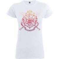Harry Potter Draco Dormiens Nunquam Titillandus Women's White T-Shirt - XXL - White - Harry Potter Gifts