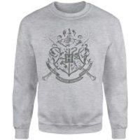 Harry Potter Draco Dormiens Nunquam Titillandus Men's Grey Sweatshirt - XXL - Grey - Harry Potter Gifts