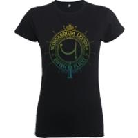 Harry Potter Wingardium Leviosa Swish And Flick Women's Black T-Shirt - M - Black - Harry Potter Gifts
