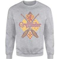 Harry Potter Gryffindor Grey Sweatshirt - XXL - Grey - Gryffindor Gifts