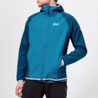 Jack Wolfskin Men's Zenon Softshell Jacket - Glacier Blue - M - Blue