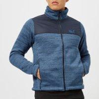 Jack Wolfskin Mens Aquila Fleece Jacket - Ocean Wave - L - Blue