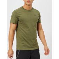 Jack Wolfskin Men's Essential Short Sleeve T-Shirt - Woodland Green - L - Green