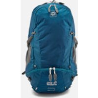 Jack Wolfskin Mens Moab Jam 34 Backpack - Poseidon Blue