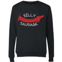 Silly Sausage Women's Sweatshirt - Black - M - Black