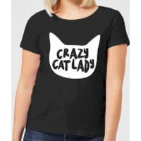 Crazy Cat Lady Women's T-Shirt - Black - XXL - Black - Crazy Gifts