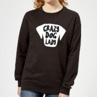 Crazy Dog Lady Women's Sweatshirt - Black - XXL - Black - Crazy Gifts