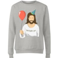 Birthday Boy Womens Sweatshirt - Grey - S - Grey