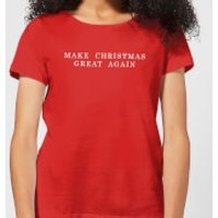 Make Christmas Great Again Women's T-Shirt - Red - XXL - Red