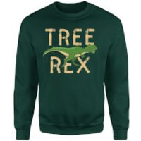 Tree Rex Sweatshirt - Forest Green - XL - Red