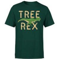 Tree Rex T-Shirt - Forest Green - M - Forest Green