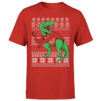 T-Rex Sleeves T-Shirt - Red - M - Red