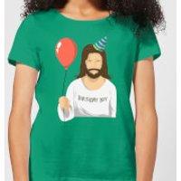 Birthday Boy Women's T-Shirt - Kelly Green - M - Kelly Green