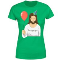 Birthday Boy Womens T-Shirt - Kelly Green - S - Kelly Green