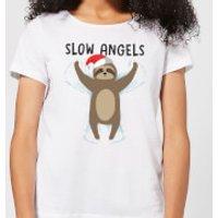 Slow Angels Women's T-Shirt - White - XXL - White