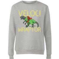 Veloci Wraptor Women's Sweatshirt - Grey - S - Grey