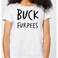 Buck Furpees Women's T-Shirt - White - L - White