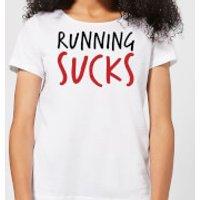 Running Sucks Women's T-Shirt - White - 5XL - White