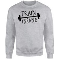 Train Insane Sweatshirt - Grey - XXL - Grey
