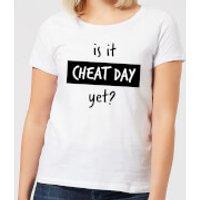 Is it Cheat Day Women's T-Shirt - White - 4XL - White