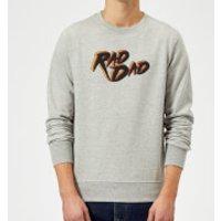 Rad Dad Sweatshirt - Grey - L - Grey