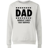 Dad Taxi Service Women's Sweatshirt - White - 3XL - White
