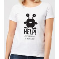 HELP Ive Created a Monster Women's T-Shirt - White - L - White