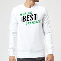 Worlds Best Grandad Sweatshirt - White - 5XL - White - Grandad Gifts