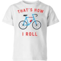 My Little Rascal Thats How I Roll Kids' T-Shirt - White - 7-8 Years - White