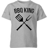 BBQ King Kids T-Shirt - Grey - 11-12 Years - Grey