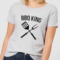 BBQ King Women's T-Shirt - Grey - S - Grey