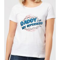 Daddy My Superhero Women's T-Shirt - White - 3XL - White