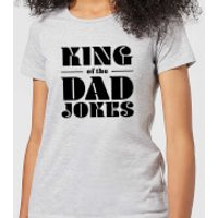 King of the Dad Jokes Women's T-Shirt - Grey - L - Grey