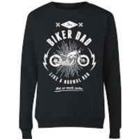 Biker Dad Women's Sweatshirt - Black - XL - Black