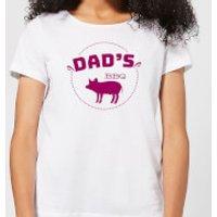 Dads BBQ Women's T-Shirt - White - XL - White
