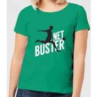 Net Buster Women's T-Shirt - Kelly Green - XL - Kelly Green